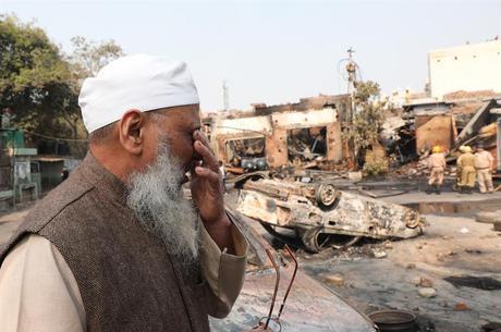 Casas e lojas de muçulmanos foram vandalizadas