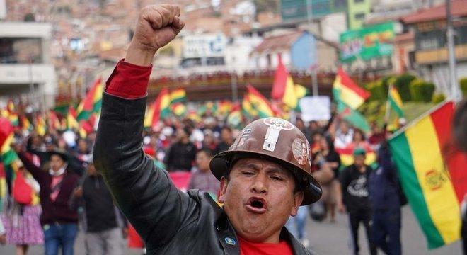 País vive, desde a eleição no domingo, uma série de manifestações pacíficas e episódios pontuais de violência