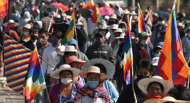 Nas duas últimas semanas a Bolívia vem registrando protestos em várias cidades