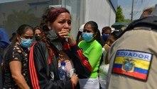 Presos atiram em policiais durante rebelião em presídio no Equador