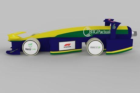 Protótipo de carro de Fórmula 1