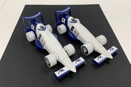 Protótipo de F1 feito por estudantes