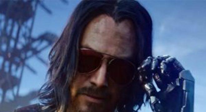 Próxima apresentação de Cyberpunk 2077 focará no personagem de Keanu Reeves