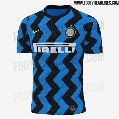 Próxima camisa 1 da Inter de Milão