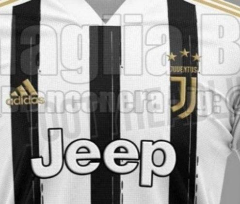 Próxima camisa 1 da Juventus