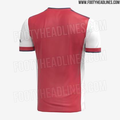Próxima camisa 1 do Arsenal
