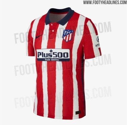 Próxima camisa 1 do Atlético de Madrid