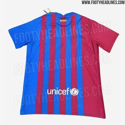 Próxima camisa 1 do Barcelona
