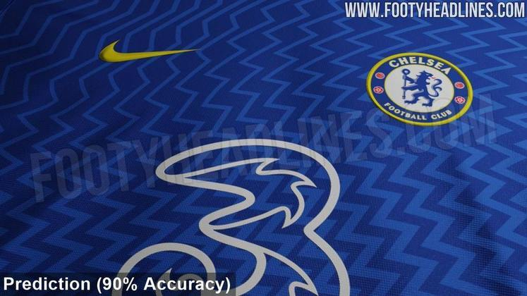 Próxima camisa 1 do Chelsea