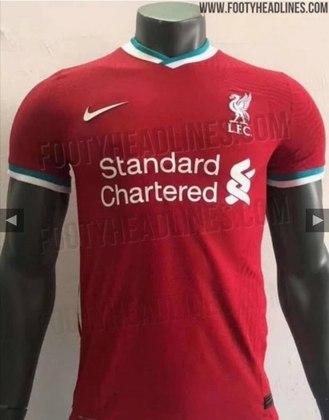 Próxima camisa 1 do Liverpool - Contrato com a Nike começa em 1º de julho e o novo uniforme possivelmente aparecerá já nos últimos jogos da temporada 2019/2020.