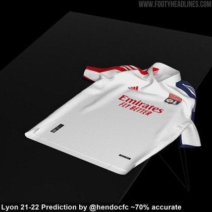 Próxima camisa 1 do Lyon