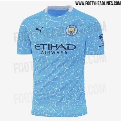 Próxima camisa 1 do Manchester City