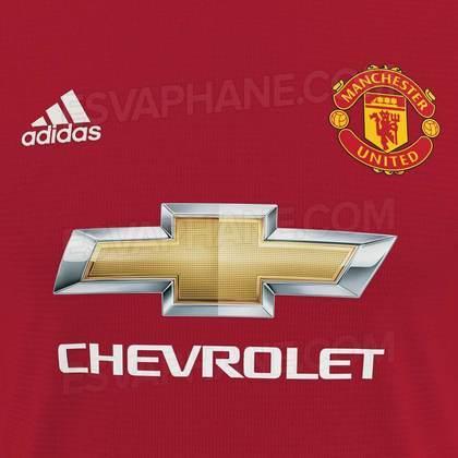 Próxima camisa 1 do Manchester United