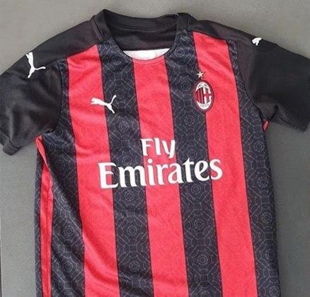 Próxima camisa 1 do Milan