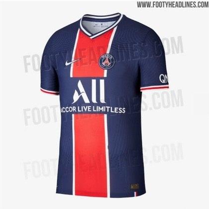 Próxima camisa 1 do Paris Saint-Germain