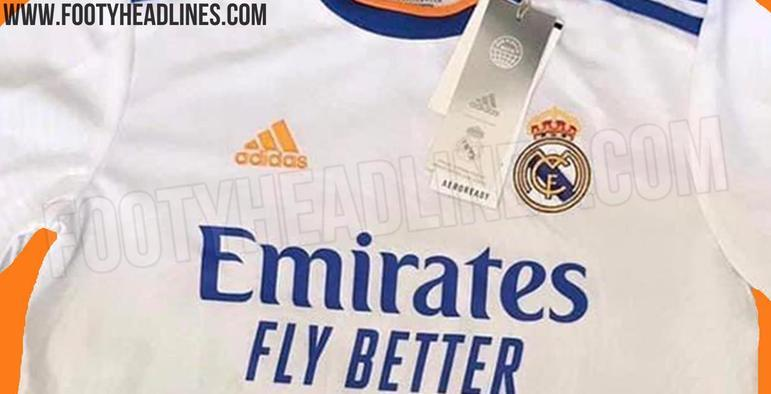 Próxima camisa 1 do Real Madrid