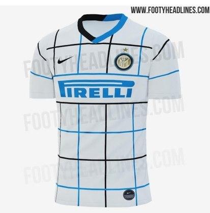Próxima camisa 2 da Inter de Milão