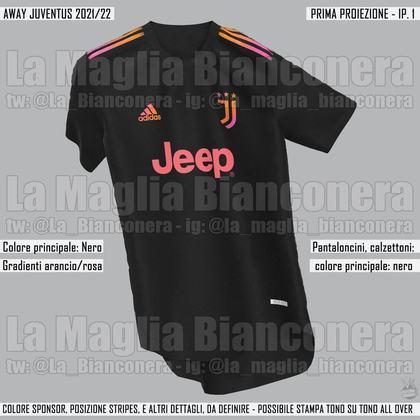 Próxima camisa 2 da Juventus