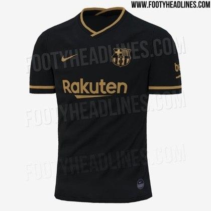 Próxima camisa 2 do Barcelona