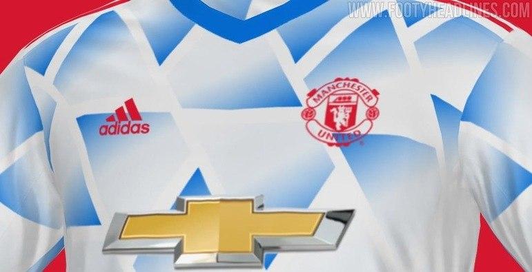 Próxima camisa 2 do Manchester United