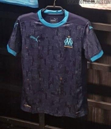 Próxima camisa 2 do Olympique de Marselha