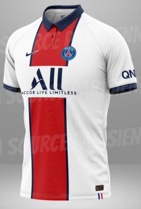Próxima camisa 2 do Paris Saint-Germain