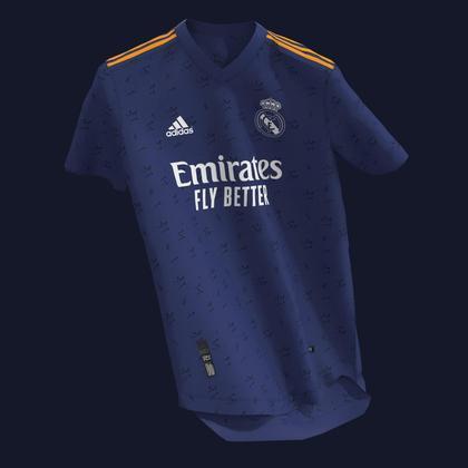 Próxima camisa 2 do Real Madrid