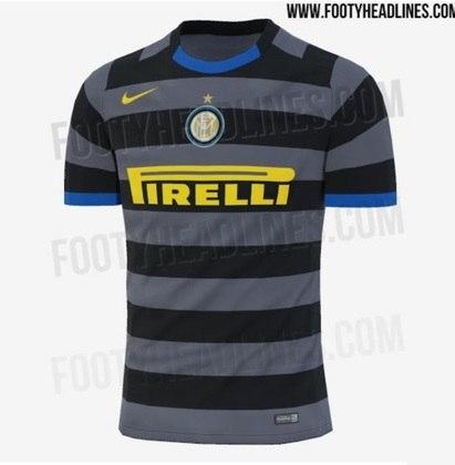 Próxima camisa 3 da Inter de Milão