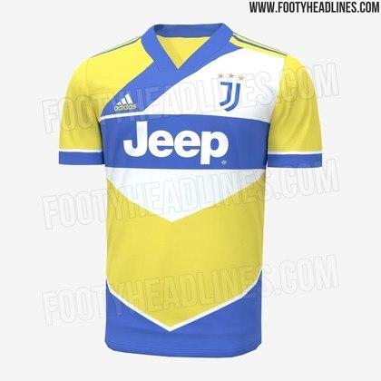Próxima camisa 3 da Juventus