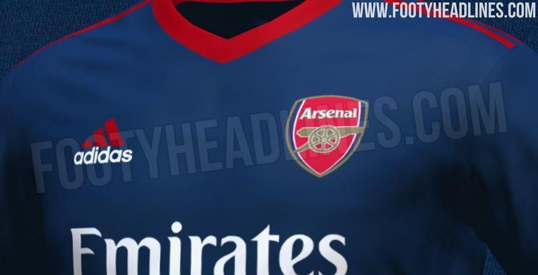 Próxima camisa 3 do Arsenal