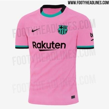 Próxima camisa 3 do Barcelona