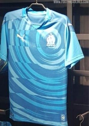 Próxima camisa 3 do Olympique de Marselha