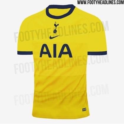 Próxima camisa 3 do Tottenham