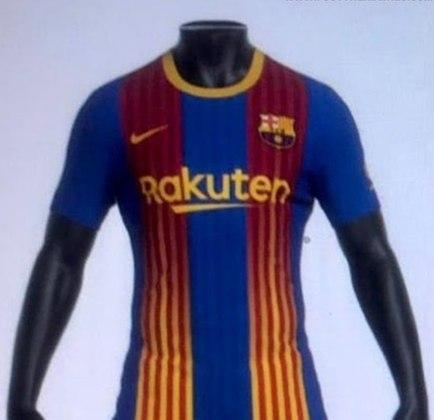 Próxima camisa 4 do Barcelona