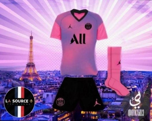 Próxima camisa 4 do Paris Saint-Germain