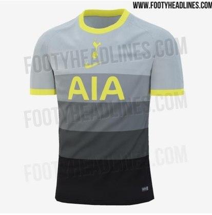 Próxima camisa 4 do Tottenham
