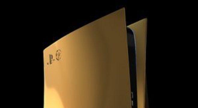PS5 custará R$ 55.500… na edição banhada a ouro