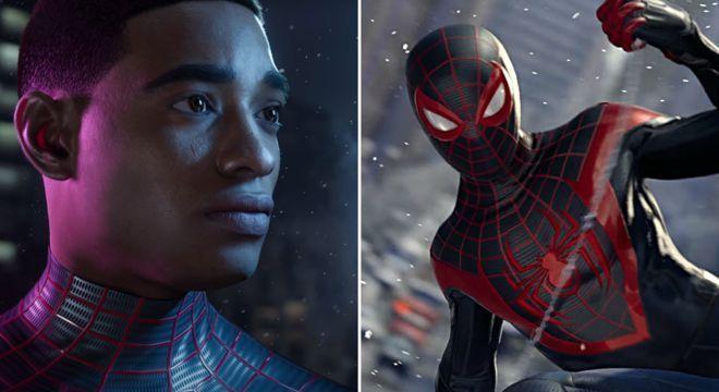O personagem Miles Morales assumiu o lugar de Peter Parker na mais recente encarnação do jogo Spider-Man