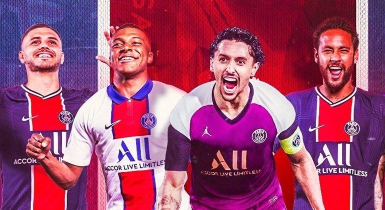 A capa do Twitter do PSG