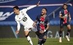 O PSG tentou chegar ao empate, mas esbarrou num time organizado, que mereceu vencer a partida