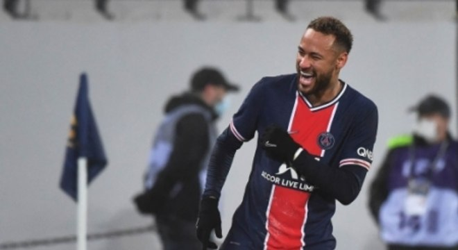 PSG x Olympique de Marselha - Neymar