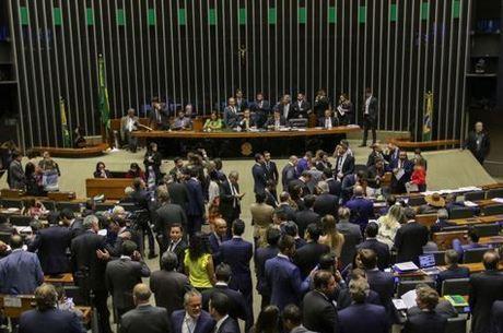 Plenário aprovou divisão de recursos de forma simbólica