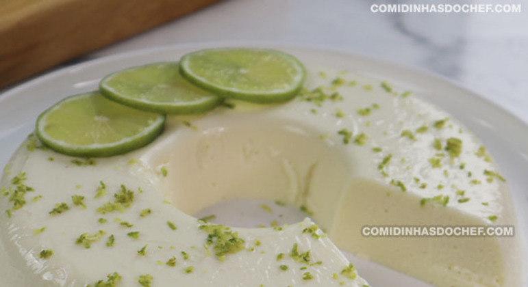 Pudim de Limão Cremoso