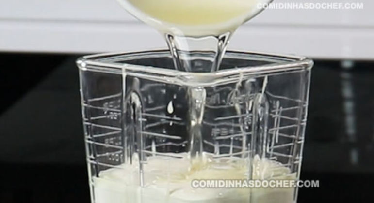 Pudim de Limão Gelado
