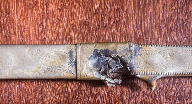 Segundo perícia, tiro acertou o punhal usado por Lampião e foi desviado para a região umbilical