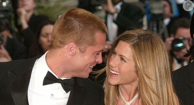 Fãs de Brad Pitt e Jennifer Aniston voltaram a 'shippar' o ex-casal