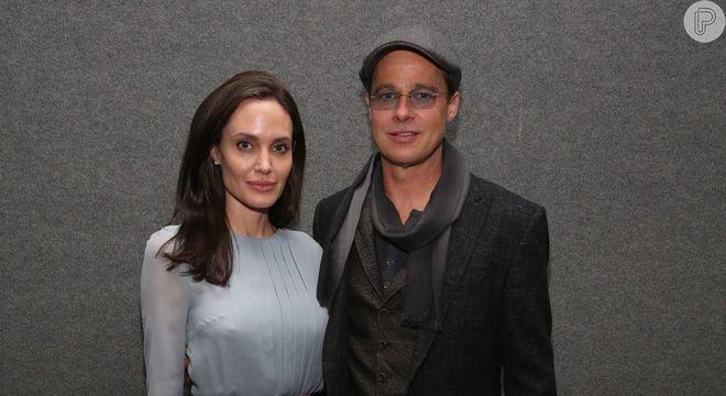 Brad Pitt casou com Angelina Jolie depois de se separar de Aniston