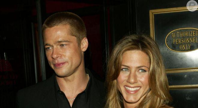Brad Pitt assistiu ao discurso de Jennifer Aniston na  premiação