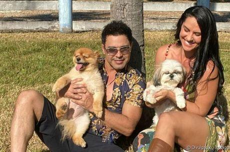 Zezé Di Camargo e Graciele tentarão o primeiro filho