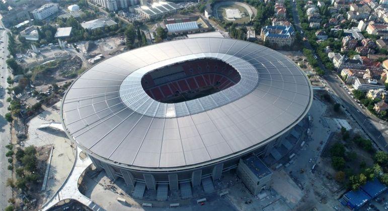 A Puskás Arena de Budapest